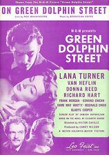 GREEN DOLPHIN STREET Sheet Music Lana Turner Donna Reed Van Heflin