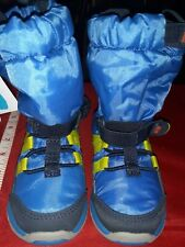 Stride Rite Toddler Boys Blue Boots Sz 5