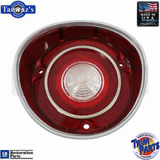 71 SS Malibu Reverse Taillight Back Up Tail Light Lamp Lens Made in the USA - LH