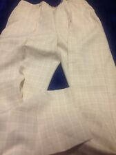 Womans Millers Brand Size 10 Bone Check Pull On Pants
