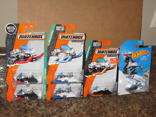 Hot Wheels Matchbox Lot of 6 Snowmobile Variation Snow Ride Ripper