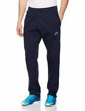 Nike Fleece Joggers Tracksuit Bottoms Gym Sweat Pants Navy