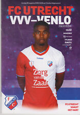 Programme / Programma FC Utrecht v VVV Venlo 26-08-2018