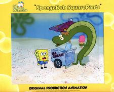 "Just Fabulous ! ""The Very Best"" ! Spongebob Production Cel #6048 ""Walking Small"""