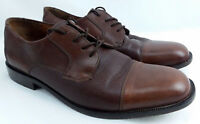 Bostonian Men's Casual Dress Shoes, Size 10M, Leather, Brown, Made In Italy  (O)