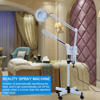 Facial Steamer 5X Magnifying LED Light Lamp Machine Spa Skin Care Tool