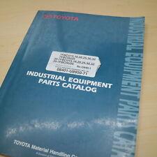 Toyota 7fbcu 7fbchu 15 18 20 25 30 32 Forklift Parts Manual Book Catalog G840 1
