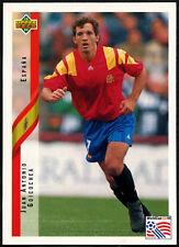 Juan Antonio Goicochea, Spain #154 World Cup USA '94, (Eng/Ger) Card (C385)