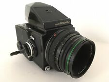 Zenza Bronica ETRC Zenzanon EII 75mm F2.8 Plain Prism 120 Back Medium Format