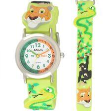 Ravel Kids 3d Jungle Time Teacher Cartoon Design Watch