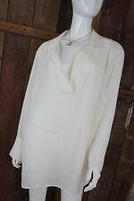 H&M MAMA CHEMISIER vêtements de maternité blanc crème semi transparent taille XL