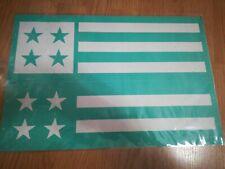 "Chalk Couture Transfer ""Homespun Flag"" C size Retired 18 x 12 reusable"
