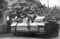 WW2 Picture Photo German Tank Sturmgeschütz-Brigade 303 3124