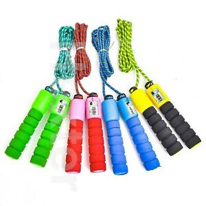 Skipping Rope Jumping Gym Workout Speed Boxing Exercise Fitness Weight Loss Kids