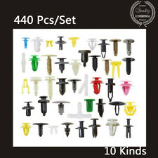 440 PCS Car Auto Mixed Rivet Retainer Fastener Clip for Fender Bumper Door