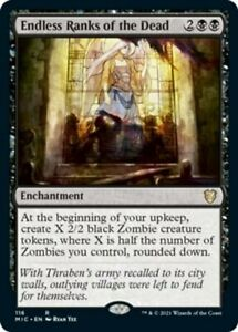Endless Ranks of the Dead x1 Magic the Gathering 1x Commander Innistrad: Midnigh
