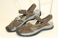 Keen Rose 1010999 Womens 8.5 39 Brown Leather Ankle Strap Walking Sandals Shoes