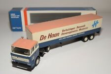 ± LION CAR DAF 2800 TRUCK WITH TRAILER DE HAAN REMOVALS NEAR MINT BOXED