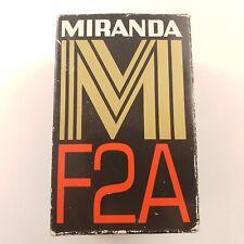 MIRANDA F2A FLASHGUN Vintage Photography - New