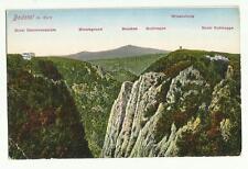 Bodetal im Karz, Germany old postcard