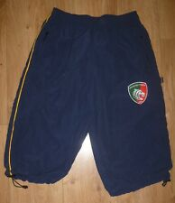 """Leicester Tigers New Navy Blue/Gold Crop Bottoms Waist Size 32"""" Embroidered"""