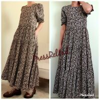 ZARA NEW FLORAL PRINT FLOWING LONG DRESS SIZE XS