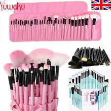 32Pcs Professional Make up Brushes Set Cosmetic Tool Kabuki Kit +Luxury Bag New