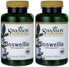 2X Boswellia 400 mg x 100 (200) Capsules ** AMAZING PRICE **  24HR DISPATCH