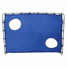 NEW! 2-in-1 Football Goal with Target Shooting Practice Net 7ft x 5ft