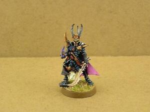 Warhammer 40K painted Dark Eldar Archon