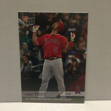 2018 Topps Now Albert Pujols 3000th Hit Card - Only 3726 Printed