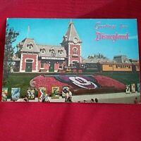 Disneyland DEPOT Magic Kingdom GREETINGS FROM DISNEYLAND Vintage Postcard NEW