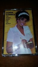 DONNA SUMMER - SHE WORKS HARD FOR THE MONEY - CASSETTE TAPE