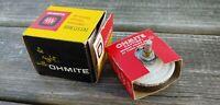 Vintage NOS NIB OHMITE No.0332 Vitreous Enameled RHEOSTAT Model J Series A