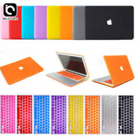"""Rubberized Hard Case+Keyboard Cover+LCD Film For Apple Mac Book Air 11""""/ 13"""" Pro"""