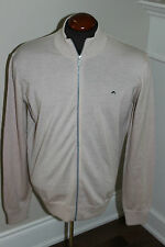 New Mens J Lindeberg J L Golf Kenny True Merino Wool Knit Beige Xxl Msrp $140