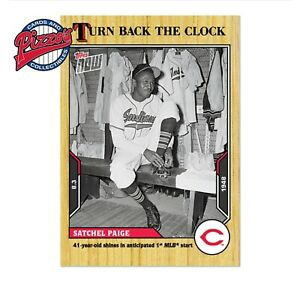 Satchel Paige - 2021 MLB TOPPS NOW Turn Back The Clock - Card 1245 Presale