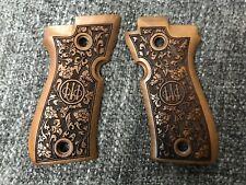 Beretta F81, 88BB, 81F, 81FS, F84 Turkish Root Walnut Wood Grips Hand Made.