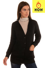 RRP €380 ARMANI JEANS Cardigan Size 38 / XS Mohair Wool Blend Medium Knit V-Neck