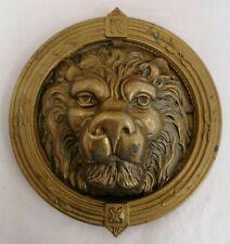 Vintage Large 8'' Lions Head Door Knocker - 1.2kg (D5)