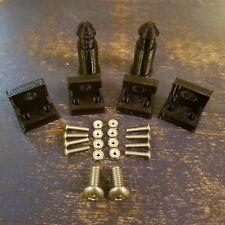 KLR 650 1987-2007 Tank Shroud Peg & Tab Repair Kit  - KLR650 Radiator Shroud Fix