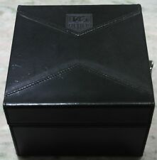 TAG Heuer rare vintage maxi box black leather two watches limited rare to find