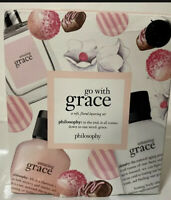 Philosophy Amazing Grace Eau de Toilette .5 oz. Boxed Gift Set 3 Pc. travel kit