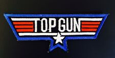 TOP GUN ░ Quality Iron On Patch Badge US AIR FORCE TOM CRUISE  ░ Costume Dressup