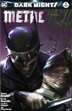 Dark Nights Metal 6 B DC 2018 Francesco Mattina Color Variant Batman Who Laughs