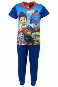 Kids Character Pajama Set Pyjamas Pjs Nightwear Long Sleeve Bottoms Boys Girls