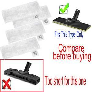 4X Steam Mcrofibre Pad Cloth For Karcher SC4 Easyfix SC 2 ,SC3 ,SC5 , 28632590