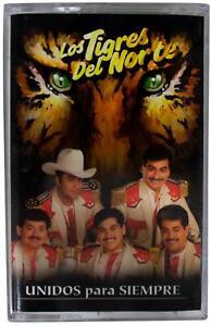 LOS TIGRES DEL NORTE Unidos Para Siempre 1996 CASSETTE TAPE 90s Norteno Corridos