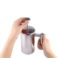 1000ml Edelstahl Pressfilterkanne Tupperware Kaffeebereiter Kaffee Kaffeepresse