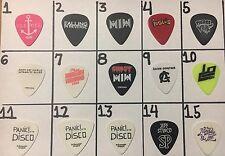 One 2017 Simple Plan Jeff Tour Used Guitar Pick #14